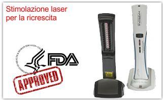 Hairmax: Ricrescita capelli stimolazione laser